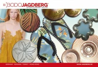 Exotik, Sommer, Strand und Meer zelebriert Bodo Jagdberg in der Kollektion