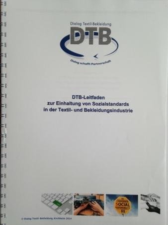 Der neue DTB-Leitfaden zur Einhaltung von Sozialstandards in der Textil- und Bekleidungsindustrie Photo: Hövelmann