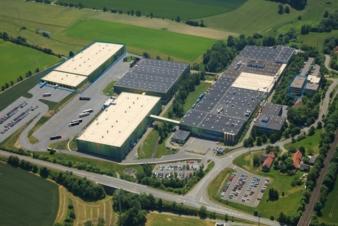Produktionsstandort von Sandler nach Fertigstellung