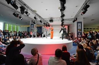 Ein Highlight Apparel Fashion ShowTechtextil und Texprocess 2015 Photos: Messe Frankfurt