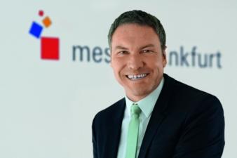 Olaf Schmidt, Vice President Textiles & Textile Technologies der Messe Frankfurt Photos: Messe Frankfurt