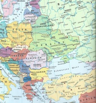 Die Länder Osteuropas Photo: Bundeszentrale für politische Bildung