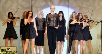 Fashionshow mit Lena Gercke