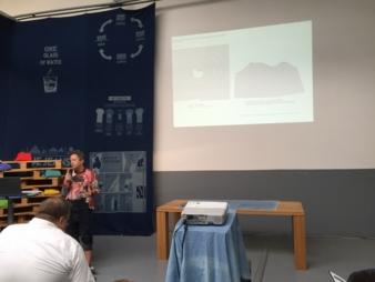 80 % der Chancen für die Nachhaltigkeit beruhen auf dem Design! Prof. Martina Glomb, Hochschule Hannover, erklärte eindrucksvoll was es damit auf...
