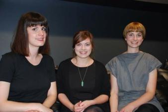 von links nach rechts: Amelie Marie Gaydoul, Bettina Krestel und Petra Rudolf (Future Sonderpreis) Photos: Zoeppritz