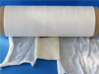 Stärke basierte Textilhalbzeuge