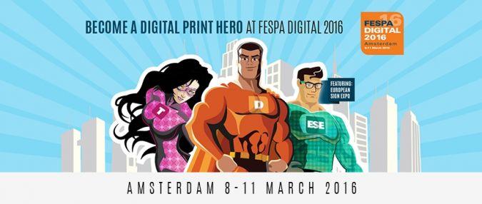 Die Fespa Digital in Amsterdam findet vom 8.-11. März 2016 statt (Photo: fespa)